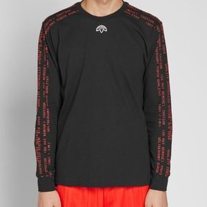 Adidas by Alexander Wang long sleeve tee size L